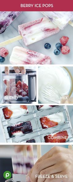 These berry gems are super easy, and a great treat on a summer day. Bonus: They only take 10 minutes to get freezer-ready! Make sure you have ice-pop molds and sticks, fresh raspberries and blueberries, sugar, and Greek yogurt. They freeze in about 3 hours. Pick up all the ingredients at your local Publix.