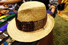 Tobacco Pheasant Wide Feather Hat Band