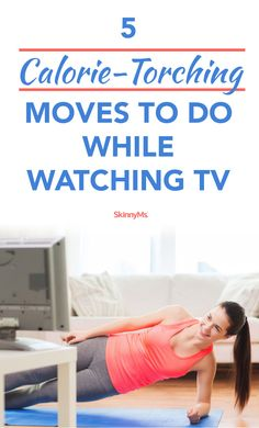 5 Calorie-Torching Moves to do While Watching TV