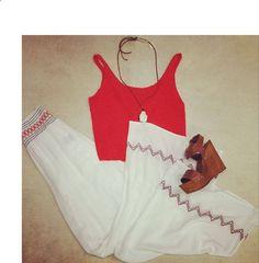 embroidered pants and sweater crop top hemline baton rouge la