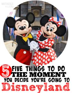 """Trust me, Disneyland is NOT the place to """"wing it."""" These Disneyland Vacation Planning Tips will be the difference between a magical trip and a not-so-magical"""