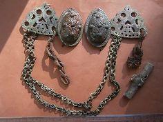 ANCIENT VIKING BRONZE FIBULA TURTLE,WOMEN SET.MEGA RARE