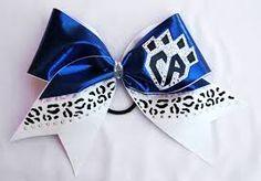 bows cheerleading - CA, Animal print