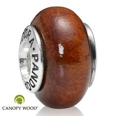 Pandora Muirapiranga Wood Charm - This charm would represent my father, who does woodworking.