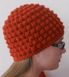 This is probably my favorite hat to make for little girls. Add a crocheted flower and it's so amazing!