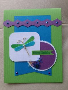 Birthday card using a Jolee embellishment