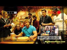 """http://www.bigmamaspizza.com  http://bigmamaspizzablog.com    The folks from Guinness World Records stopped by Big Mama's & Papa's Pizzeria to try out the World's Largest Deliverable Pizza. While they were there, Furious Pete, Food for Louis and Sam Pepper paid us a visit to attempt to set a new Guinness World Record for FASTEST time to eat a 12"""" P..."""