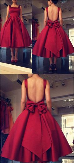 burgundy prom dresses, open back prom dresses, sexy prom dress, prom dress with bowknot, fashion, style,prom ideas,