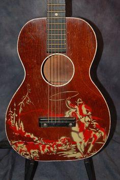 1959 Silvertone Sears Roebuck Wish Book Cowboy Guitar | Reverb