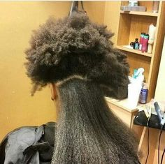 Shrinkage is too real Pelo Natural, Long Natural Hair, Natural Hair Journey, Natural Beauty, Curly Hair Styles, Natural Hair Styles, Hair Shrinkage, Natural Hair Inspiration, Love Hair