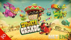 Spin the reels of this fun piñata-themed slot for free! Play Spiñata Grande.  #Pinata #Slot #Free #SpinataGrande #Mexican