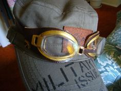Steampunk Goggles tutorial with swimming goggles