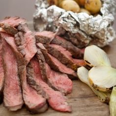 Dirty Steak and Potatoes and Mixed Grill. (Plus other #FathersDay Recipes.)