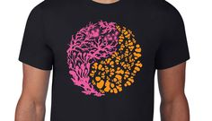 Excited to share the latest addition to my shop: Coralclown, Black Graphic T-Shirt . Mens T-Shirt . Tentacle, Printed Tees, Valentine Gifts, Screen Printing, Etsy Shop, Trending Outfits, Shirt, Cotton, Mens Tops