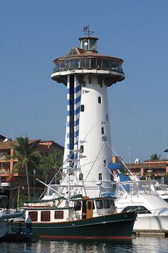 Vallarta Lighthouse, Puerto Vallarta, Mexico