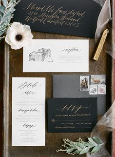 Photography: Rebecca Yale Photography - rebeccayalephotography.com Invitations And Calligraphy: Written Word Calligraphy - writtenwordcalligraphy.com   Read More on SMP: http://stylemepretty.com/vault/gallery/55593