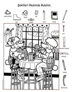 printable preschool worksheets pre k Printable Preschool Worksheets, Kindergarten Math Worksheets, Kindergarten Learning, Free Worksheets, Alphabet Worksheets, Free Printables, Learning English For Kids, English Lessons For Kids, French Lessons