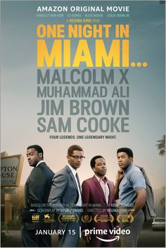 Interesting movie about the collision of some of the most influential men of the civil rights movement on one night in 1963 Sam Cooke, Regina King, Malcolm X, Miami, Dundee, Movies To Watch, Good Movies, Aldis Hodge, Leslie Odom