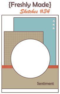 Stampin up layout