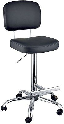 Office Stool For More Well Being Tall Office Chairs Black