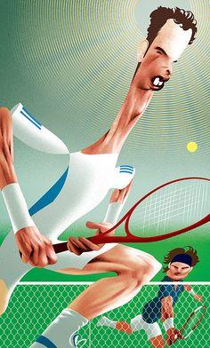 Andy Murray & Roger Federer - www.remix-numerisation.fr - Rendez vos souvenirs durables ! - Sauvegarde - Transfert - Copie - Digitalisation - Restauration de bande magnétique Audio - MiniDisc - Cassette Audio et Cassette VHS - VHSC - SVHSC - Video8 - Hi8 - Digital8 - MiniDv - Laserdisc