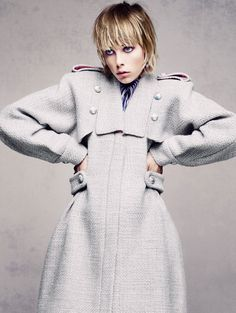 edie campbell by sølve sundsbø for vogue china december 2015 | visual optimism; fashion editorials, shows, campaigns & more!