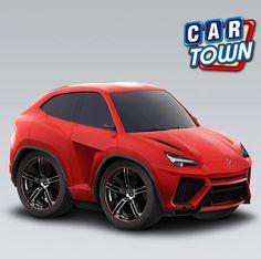 ¡El Lamborghini Urus 2012 está ahora disponible en Car Town! Este aerodinámico SUV concepto antes estaba solamente disponible a través de la Caja Misteriosa Concept Car. ¡Agarra un mientras puedes!    14/11/2012