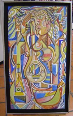 pintado em acrllico Couture, Painting, Moldings, Painting Art, Paintings, Haute Couture, Painted Canvas, Drawings