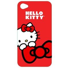 So hot with red color! So cute with Hello Kitty! Do you want your iPhone 4/4S appeared with this style?Check it out now!