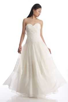 CHRISTINE  Bridal wedding gown by TheCottonBride on Etsy, $1950.00