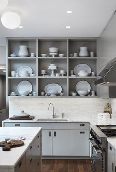 Asking Your Opinion About The Drawbacks Of Open Shelving In The Kitchen