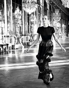 Daria Strokous by Inez and Vinoodh for Dior Secret Garden