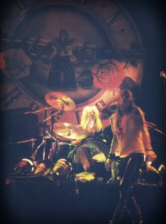 W. Axl Rose and Steven Adler