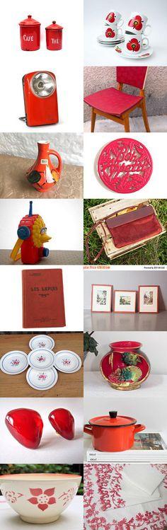 21.01.2016 : RED by Gaël B. on Etsy #etsy #etsyfr #frenchvintage #french #vintage #etsyvintage #vintagefinds #france #frenchtouch #vintagefr #retro #midcenturymodern #paris #bestvintage #brocante #vintagefrance #vintagefr #red