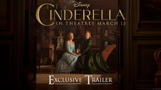 Excited to see this one!  Disney's Cinderella Official US Trailer 2