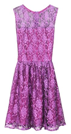 Pretty Purple Lace Dress <3