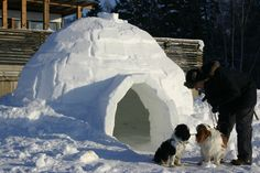 Igloo in Sarvastonlahti Helsinki, Finland, Mount Everest, Mountains, Places, Nature, Travel, Naturaleza, Viajes