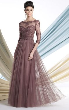 Montage 213980 Mother of the Bride Dress with Lace at frenchnovelty.com