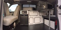 VW T5 and T6 Campervan Conversion - Tourer Design 2 Berth option £7,850inc vat, fully fitted.  4 berth option £12,350inc vat (fitted with SCA Deluxe 190 elevating roof and roof bed) Full Panel Lining, insulation and carpeting carpet lining, using foil backed 10mm dense foam sheet and 3 inch sheeps wool or recycled plastic fibre, heat and sound insulator. Fridge - 50 litre 12v compressor fridge with Ice-box, thermostat and battery protection Sink – (With external outlet) – Stainless steel…