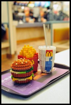 I think I'd actually prefer to eat the Legos. Super cute though!