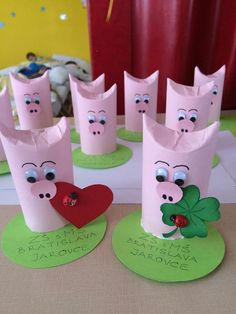 Thank goodness bastelnmitkindern Basteln mit kindern . Thank goodness bastelnmitkinder handicrafts with children Basteln bastelnmitkinder goodne Pig Crafts, Diy And Crafts, Arts And Crafts, Animal Crafts For Kids, Diy For Kids, Children Crafts, Toilet Paper Roll Crafts, Paper Crafts, Handicraft