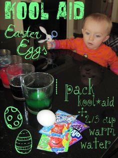 Kool*Aid Easter Eggs