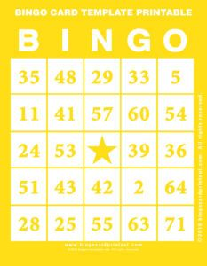 bingo numbers for the sun bingo in the paper