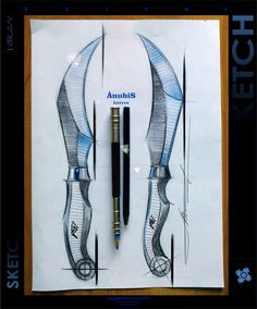 AnubiS knives