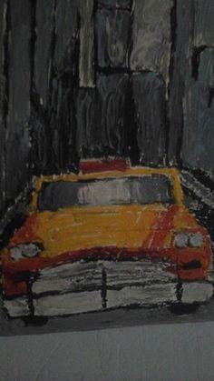 new york, selbst gemalt von mir