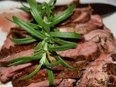 Lammestek med ovnsbakte grønnsaker, potetpurè og rødvinssjy | TRINEs MATbloggTRINEs MATblogg