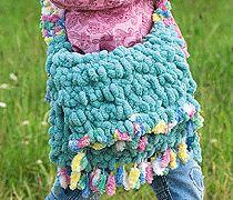 Geburtstagsgeschenk-Tipp: Bunte Kindertasche häkeln