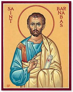 St. Barnabas - Apostle, martyr and patron of St. Paul