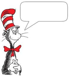 Clip art of many different characters from Dr. Seuss that you can put your own text in.  | followpics.co