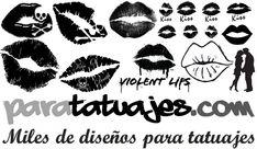 BESOS PARA TATUAJES  Para Tatuajes